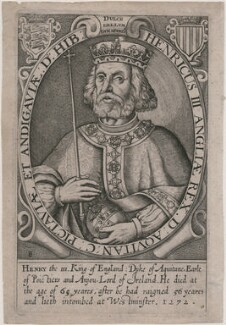 King Henry III, by Renold or Reginold Elstrack (Elstracke), published 1638 or 1662 (Engraved 1618) - NPG D33882 - © National Portrait Gallery, London