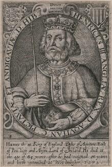 King Henry III, by Renold or Reginold Elstrack (Elstracke) - NPG D33883