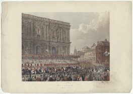 'St Paul's, March 7th 1863' (including King Edward VII; Queen Alexandra), by Robert Charles Dudley - NPG D33988