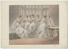 'The Bridesmaids', by Robert Charles Dudley - NPG D33997
