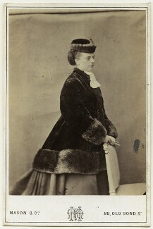 Charlotte Frances Frederica Spencer (née Seymour), Countess Spencer, by Mason & Co (Robert Hindry Mason), early 1870s - NPG x127217 - © National Portrait Gallery, London