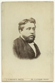Charles Haddon Spurgeon, by James Francis Knights - NPG x132255