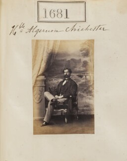 Hon. Francis Algernon James Chichester, by Camille Silvy - NPG Ax51074