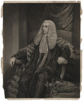 Charles Abbot, 1st Baron Colchester, by Charles Picart, after  James Northcote - NPG D34007