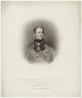 Sir Galbraith Lowry Cole, by Charles Picart, published by  T. Cadell & W. Davies, after  John Wright, after  Sir Thomas Lawrence - NPG D34009