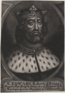 King Edward II, by John Carwitham, after  Unknown artist - NPG D33894