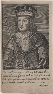 King Edward II, by F.F., after  Unknown artist - NPG D33895