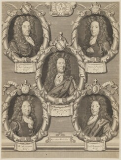 The Five Kentish Petitioners, possibly by Robert White - NPG D34025