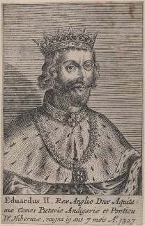 King Edward II, after Unknown artist - NPG D33893