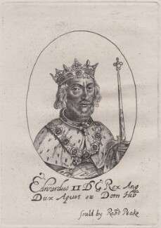 King Edward II, probably after William Faithorne - NPG D33892