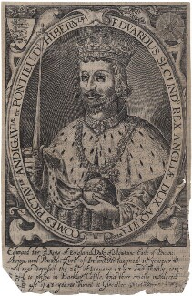 King Edward II, by Renold or Reginold Elstrack (Elstracke) - NPG D33890