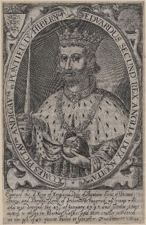 King Edward II, by Renold or Reginold Elstrack (Elstracke) - NPG D33891