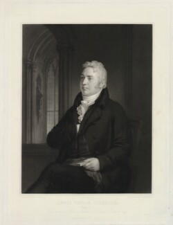 Samuel Taylor Coleridge, by Samuel Cousins, after  Washington Allston - NPG D34029