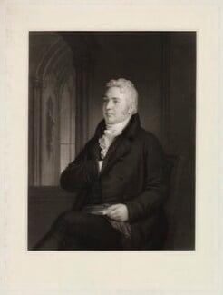Samuel Taylor Coleridge, by Samuel Cousins, after  Washington Allston, published 1854 - NPG D34030 - © National Portrait Gallery, London