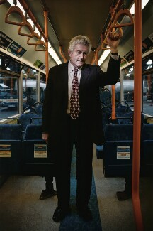 Rhodri Morgan, by Huw Alden Davies - NPG x132261