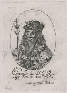 King Edward III, probably by or after William Faithorne - NPG D33896