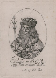 King Edward III, probably by or after William Faithorne - NPG D33897