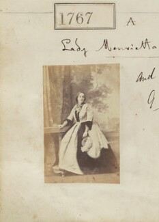 Lady Henrietta Louisa Priscilla Morant (née Somerset), by Camille Silvy - NPG Ax51158