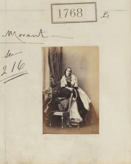 Lady Henrietta Louisa Priscilla Morant (née Somerset), by Camille Silvy - NPG Ax51159