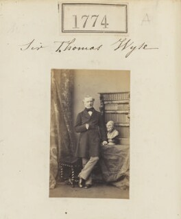 Sir Thomas Wyse, by Camille Silvy - NPG Ax51165