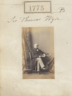 Sir Thomas Wyse, by Camille Silvy - NPG Ax51166