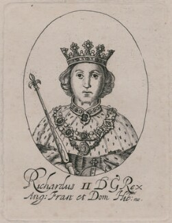 King Richard II, probably after William Faithorne - NPG D33901