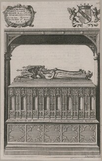 Tomb of King Richard II and Anne of Bohemia in Westminster Abbey, by Richard Gaywood, 1665 - NPG D33903 - © National Portrait Gallery, London