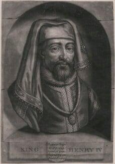 King Henry IV, by John Faber Jr, after  Unknown artist - NPG D33907