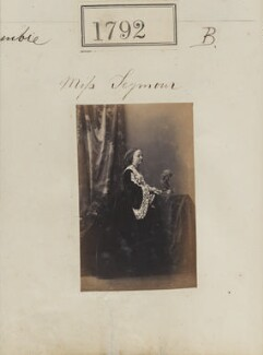 Augusta Emily (née Seymour), Lady Delamere, by Camille Silvy - NPG Ax51183