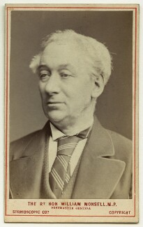 William Monsell, 1st Baron Emly, by London Stereoscopic & Photographic Company - NPG x132273