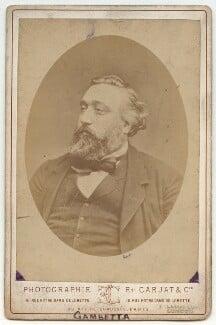 Léon Gambetta, by Carjat & Co (Etienne Carjat) - NPG x132276