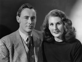 Sir Stephen Lewis Edmonstone Hastings; Harriet Mary Elisabeth Hastings (née Tomlin), by Bassano Ltd - NPG x71846