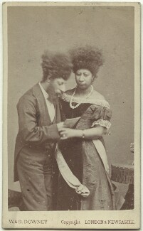 Maximo and Bartola, by W. & D. Downey - NPG x132258