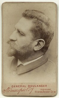 Georges Ernest Jean Marie Boulanger, by London Stereoscopic & Photographic Company - NPG x132280