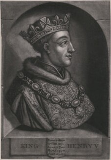 King Henry V, by John Faber Jr, after  Unknown artist - NPG D33911