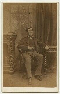 Anthony Ashley-Cooper, 7th Earl of Shaftesbury, by Ferdinand Jean de la Ferté Joubert, 1860s - NPG x132281 - © National Portrait Gallery, London