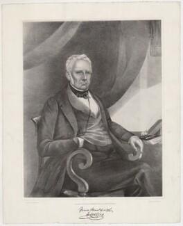 Mr Collier, by T. Balderston, after  Henry Spurrier Parkman - NPG D34036