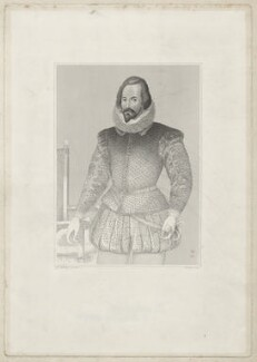possibly Sir Henry Compton, by Joseph Brown, after  George Perfect Harding, after  Unknown artist - NPG D34054