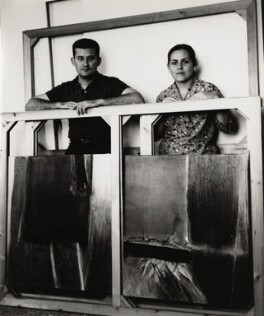 Hugo Consuegra Sosa; Rita Arias, by Ida Kar, 1964 - NPG x132293 - © National Portrait Gallery, London
