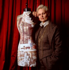 Dame Vivienne Westwood, by David Secombe - NPG x68821
