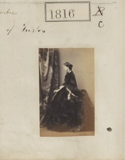 Marie Anne Louise (née Baring), Duchess of Grafton, by Camille Silvy - NPG Ax51207