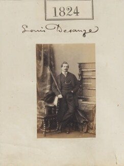 Louis William Desanges, by Camille Silvy - NPG Ax51215