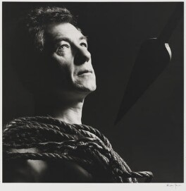 Ian McKellen, by Alistair Morrison - NPG x36494