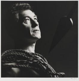 Ian McKellen, by Alistair Morrison, July 1990 - NPG x36494 - © Alistair Morrison