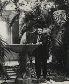 José Lezama Lima, by Ida Kar, 1964 - NPG x132304 - © National Portrait Gallery, London