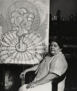 Amelia Peláez Del Casal, by Ida Kar - NPG x132307