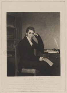 Pierce Egan, by Charles Turner, after  George Sharples - NPG D34058