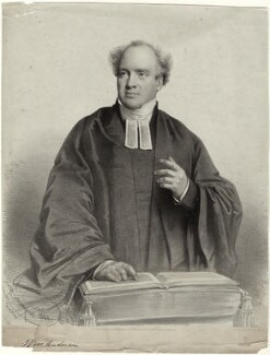James Stuart Murray Anderson when preaching, by Charles Baugniet - NPG D34059