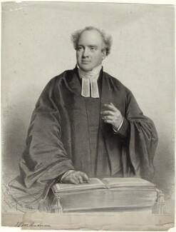 James Stuart Murray Anderson when preaching, by Charles Baugniet, 1844 - NPG D34059 - © National Portrait Gallery, London