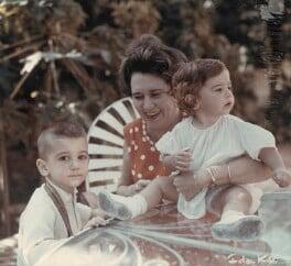 Abel Hart Santamaría; Haydée Santamaría Cuadrado; Celia Hart Santamaría, by Ida Kar - NPG x132317